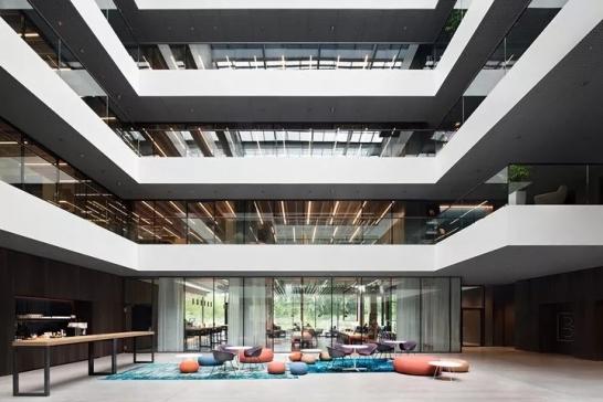 办公空间 || 追梦空间 德国AEB软件公司斯图加特总部办公设计欣赏