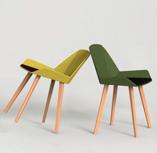 折纸休闲椅